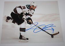 Logan Couture signed Sharks 8x10 photo COA