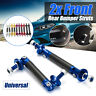 Adjustable Universal Front/Rear Bumper Lip Splitter Strut Brace Rod