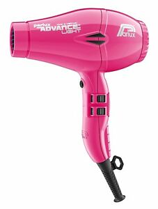 Parlux Advance Light Pink Dryer Hair Ionic Professional 2200W 3 M. Cable