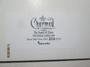 """2003 CHARMED: T P o T """" THE POWER OF THREE """" UNCUT MINI-PRESS SHEET (373 of 500)"""