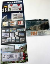 Greenland Post Official Year Set 2007 Complete with 3 Blocks & Parcel Post - MNH