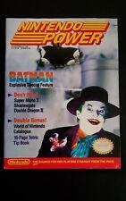 Nintendo Power Magazine Vol 10 Jan/Feb Batman Complete Poster, Gear & Inserts