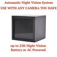 IR Real Automatic AC Battery Powered Night Vision Kit for Any Spy Hidden Camera