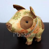 LARGE PIG CUTE PIGGY Stuffed Animal Handmade SOFT TOY