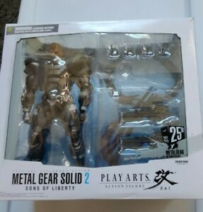 Play Arts Kai Metal Gear Solid 2 - Solidus Snake
