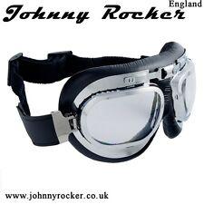JOHNNY Rockers velocità NEGOZIO BK2 AVIATOR MOTO OCCHIALI