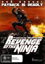 REVENGE OF THE NINJA 1983 ACTION DVD CANNON SHO KOSUGI CULT CLASSIC