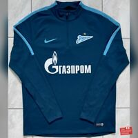 Nike FC Zenit 2016/17 Player Issue 1/2 Zip Training Drill Top. Size L, Exc Cond.