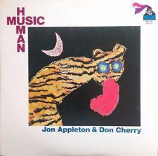JON APPLETON & DON CHERRY Human Music FLYING DUTCHMAN RECORDS Sealed Vinyl LP