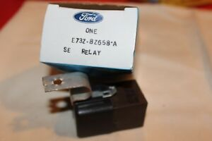 NOS 1987 FORD TEMPO MERCURY TOPAZ 2.3L ANTI SKID AND COOLING FAN RELAY