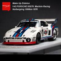 Make Up 1:43 Porsche 935/76 Martini Racing #1 Nuburgring 1000km 1976 Car Model