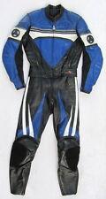 Gut erhaltene HEIN GERICKE PSX 1 Gr. 36 Zweiteiler Lederkombi schwarz blau