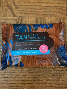 Tan By The Towelette Self Tanning 15 Count