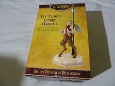 BOXED NARNIA MR TUMNUS DESIGN MAQUETTE LIMITED EDITION CAST WETA DISNEY 0312 NEW