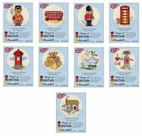 Mouseloft Stitchlets 'Images of Britain' Cross Stitch Kits - Choice of 7 Designs