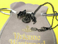 Vivienne Westwood Bat Wing Orb Necklace