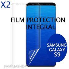 Lot de 2 Films Protection Total Entier Pour Écran Incurvé Pour Samsung Galaxy S9