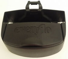 Evenflo Car Seat Snack Holder Toy Caddy with Bracket Accessory Toddler Black Euc