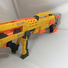 Nerf N Strike Longshot CS-6 Rifle Gun Dart Gun Sniper Blaster Barrel Yellow