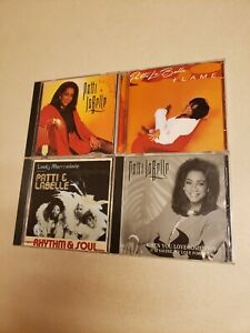 4 CD LOT/ Patti Labelle-Lady Marmalade+ Flame+Burnin'+(1 Single)
