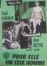 THE HELEN MORGAN STORY 1957 PAUL NEWMAN - French PRESSBOOK