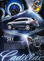 2010 Cadillac SRX - crossover - Classic Vintage Advertisement Ad PE96
