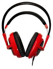 (NEW) MSI SteelSeries Siberia V2 Full-Size RED Dragon Edition Headband Headset