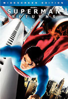 Superman Returns (DVD, 2006, Widescreen Edition) ws dc comics