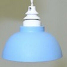 Ceiling Lamp in Blue Dolls House Miniature Electric Lighting 1.12 Scale