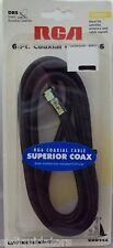 """RCA (VHD966) 6 Ft. COAXIAL """"VIDEO"""" CABLE, RG6"""