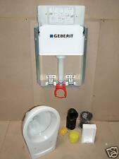 Vorwandelement  mit Geberit Spülkasten  + Wand  - WC ,Toilette