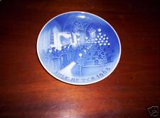 Bing & Grondahl Plate, 1968, Christmas in Church