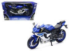 2016 YAMAHA YZF-R1 BLUE 1/12 MOTORCYCLE MODEL BY NEW RAY 57803 A