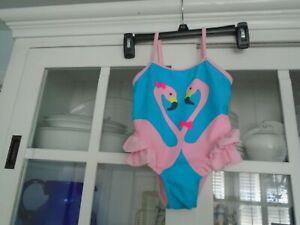 FLAMINGOS Girls size 24 mo / 2T Darling 1 PIECE Swimsuit