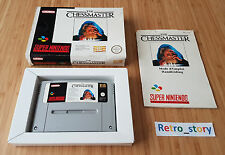 Super Nintendo SNES The Chessmaster PAL