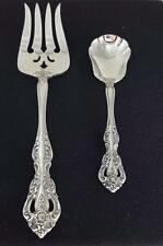 Oneida MICHELANGELO Stainless 1 Cold Meat Fork, 1 Sugar Shell Spoon A+ CONDITION