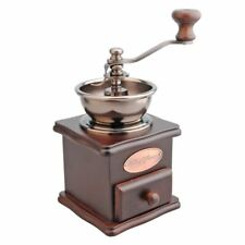 Manual Coffee Grinder Wodden Retro Stylish Portable Coffee Beans Hand Crank Mill