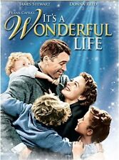 IT'S A WONDERFUL LIFE James Stewart, Donna Reed DVD NEW