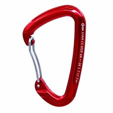 24kN 5400lb Aluminum Wire Gate Carabiner for Quickdraw Rock Climbing CE UIAA