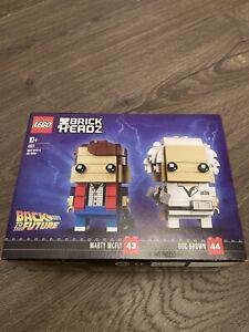 Lego Back To The Future Brickheads New And Sealed
