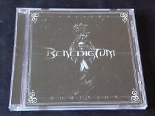 Benedictum - Dominion (CD 2011) features Members of Malady Lyraka