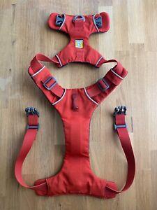 Ruffwear Front Range Dog Harness Medium. M. Ruff Wear. Red Sumac