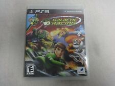 Ben 10 Galactic Racing Sony Playstation 3 PS3 Game Complete