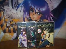 Dog Warriors, The Hakkenden Vol 1,2,3 - Complete Collection BRAND NEW Anime DVD