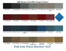 1988-2002 Chevy/GMC Truck Carpet, Extended Cab, 100% Nylon Cut-Pile