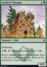 4x Archers' Parapet (Brüstung der Bogenschützen) Khans of Tarkir Magic