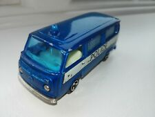 Majorette vw fourgon in police livery
