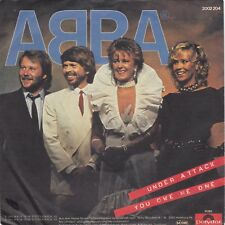"""ABBA """"Under Attack"""" & """"You Owe Me One"""" German Record (NM) & Picture Slv (VG++)"""