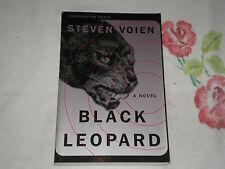 BLACK LEOPARD by STEVEN VOIEN   -ARC-   +JA+