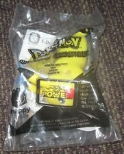 2012 Pokemon Black and White McDonalds Happy Meal Toy with Card - Pikachu #1